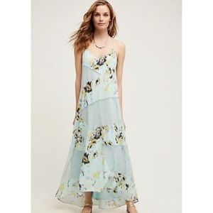 Sachin + Babi Dress Maxi Rainflower Lace Floral